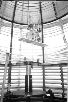 The Fresnel Lens was an innovation that vastly improved the distance a light station could project its light further than any of its predecessors.  Many are still in use today.