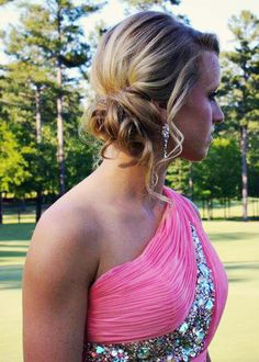 wedding hair  prom hair