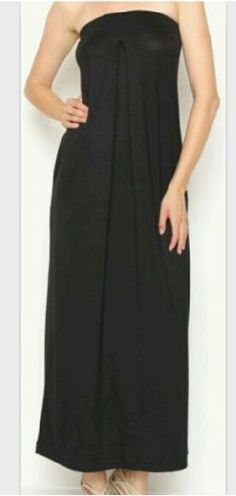 The relaxation dress - black