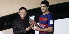 Foot - CM clubs - FC Barcelone : Luis Suarez élu meilleur joueur du Mondial des clubs