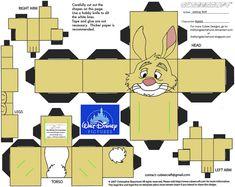 Dis24: Rabbit Cubee by TheFlyingDachshund.deviantart.com on @deviantART