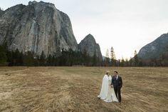 @bergreenphoto Yosemite National Park, March Wedding