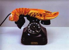 Lobster Telephone (1936) by Salvador Dalí
