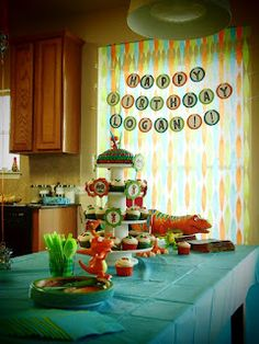 Dinosaur Train Birthday Party Decor