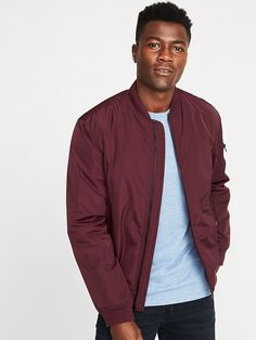 590d474fcdc Saw this on Old Navy  Nylon Bomber Jacket