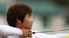 World record for Im Dong Hyun of Korea in the men's ArcheryIm Dong Hyun of Korea competes during the Archery men's individual ranking round as part of the London 2012 Olympic Games at Lord's Cricket Ground on 27 July     http://media.jtbc.co.kr/2012London