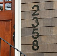 11 House Numbers to Count On for Curb Appeal
