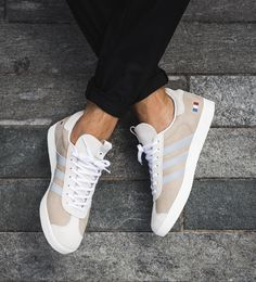 Adidas Gazelle Alife x Starcow x White Grey Blue Mens Trainers Adiddas Shoes 17ee38e7a