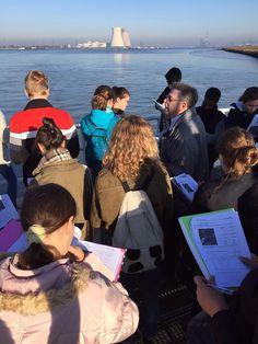 De tweedejaars trokken onder een stralende zon naar de Haven van Antwerpen.