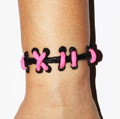 Von Erickson - Set of Two Bracelets - Pink and Black.   $17 - click on the photo for a direct link - http://goreydetails.net/shop/index.php?main_page=product_info=41_47_id=2488