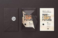 Aniversery Invitations from Manifiesto Futura / silkscreen Layout Design, Design Art, Print Design, Logo Design, Media Design, Flat Design, Cv Inspiration, Graphic Design Inspiration, Self Branding