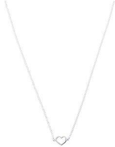 simple heart necklace   KAREN WALKER