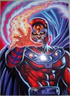 astonishingx:  Magneto's Monday:Magneto by Bob Larkin