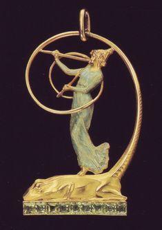 Art Nouveau artists - Lalique Jewelry I love it! Bijoux Art Nouveau, Art Nouveau Jewelry, Jewelry Art, Vintage Jewelry, Jewelry Design, Antique Jewellery, Antique Rings, Fine Jewelry, Vase Lalique