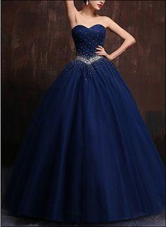 Prinessin Ballkleid Royalblau BL260                                                                                                                                                                                 Mehr