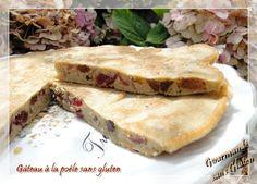 Gourmande sans gluten: Gâteau à la poêle sans gluten et sans lactose