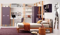 Teenage Bedroom Furniture – Unique and Trendy Teen Bedroom Furniture Ideas White Teenage Bedroom Furniture Tween Teen Room Furniture, Furniture Layout, Wood Furniture, Furniture Ideas, Furniture Design, Jugendschlafzimmer Designs, Design Ideas, Dispositions Chambre, Casa Kids