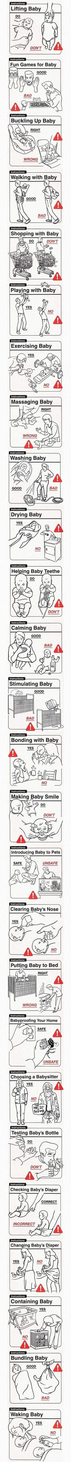 These Baby Do's And Don'ts Are Really Quite Informative (If You're An Idiot)