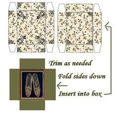 Boxes and Bags Mini Printables 2 - de wissel - Picasa Web Albums