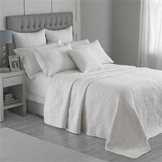 Exclusive to ACHICA Hotel Living Belves 240 x 260cm Bedspread, White