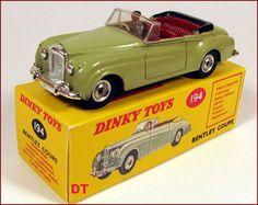 Dinky Toys Bentley coupé