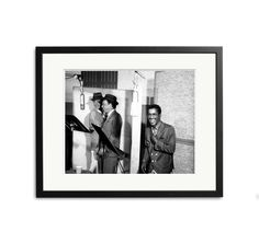 Rat Pack Recording Session | Sonic Editions | 199.00+ | Image# sinatra-FUL1 | edition of 495 | Entertainers and members of the Rat Pack, Dean Martin, Frank Sinatra and Sammy Davis, Jr. record in the studio in 1962.