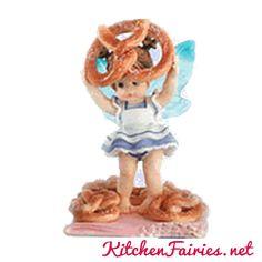 Hot Pretzel Fairie - From Series Sixteen of the My Little Kitchen Fairies collection
