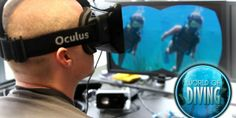 Experience Diving with an Oculus Rift - Diving for treasure in the Caribbean feels much more realistic with an Oculus Rift headset.