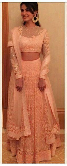Pakistani Dresses, Indian Dresses, Indian Outfits, Punjabi Fashion, Indian Fashion, Indian Bridal Wear, Indian Wear, Lehenga For Girls, Dress Outfits