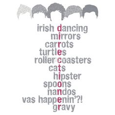 only direction would understand what all these words even mean