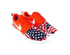 Nike Roshe Run American Flag Pride