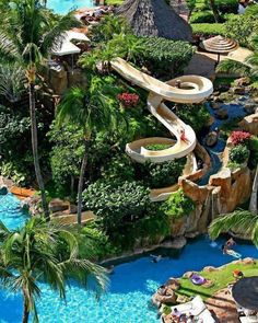 Westin Maui Resort & Spa -Hawaii...this would be a fun family vacation with kids