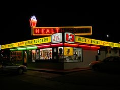 Health Camp in Waco, Texas has the Best Soft Serve Ice Cream around!!! It is a local vintage hot spot.
