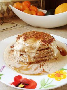 Cinnamon Oatmeal Pancakes - Throwback! | clark|pharm