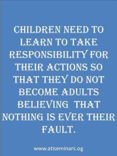 And even harder when one parent never had to take responsibility and learned that it was always someone else's fault.