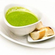 ПІСНІ СМАКОЛИКИ: Гороховий крем-суп з цибулею-порей та крутонами www.uamodna.com/articles/pisni-smakolyky-gorohovyy-kremsup-z-cybuleyuporey-ta-krutonamy