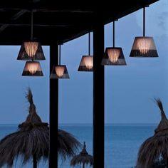 Buy online Romeo outdoor by Flos, pendant lamp design Philippe Starck, Outdoor - Pendant collection Luminaire Design, Lamp Design, Pergola, Hanging Lights, Hanging Lamps, Pendant Lamp, Outdoor Lighting, Architecture Design, Garden Design