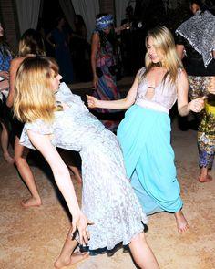 Zoe Kazan and Ashley Avignone