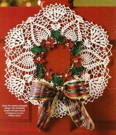 Crochet PATTERN ONLY Pineapple Poinsettia Wreath Christmas Pattern Offered is a Crochet Pineapple Poinsettia Christmas Wreath Pattern. Crochet Christmas Wreath, Crochet Wreath, Poinsettia Wreath, Christmas Wreaths, Christmas Crafts, Christmas Decorations, Christmas Ornaments, Christmas Poinsettia, Christmas Things