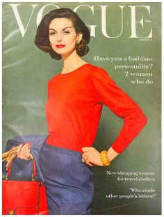 Vogue 1959 April, Anne St Marie Photo Tom Palumbo