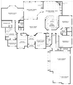 ok, so it's not modern, but I just love the single level living floorplan