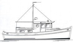 Redwing 34 Tug - Tugboat/ Yacht | Chesapeake Marine Design