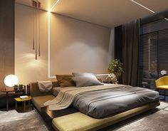 Modern Style Bedroom Design Ideas and Pictures. This is why taking a decision in this area could prove to be somewhat tough. For today we gathered Modern Bedroom Ideas. Bedroom Bed Design, Home Bedroom, Bedroom Decor, Bedroom Ideas, Bedroom Designs, Bedroom Ceiling, Ikea Bedroom, Royal Bedroom, Fall Bedroom