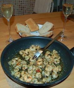 Krevety na cesnaku - Recept pre každého kuchára, množstvo receptov pre pečenie a varenie. Recepty pre chutný život. Slovenské jedlá a medzinárodná kuchyňa
