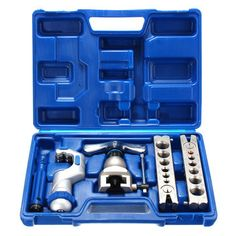 R410A Pipe Expander Refrigeration Eccentric Cone Ratchet Flaring Flare Tool Kit