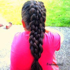 #9strand #braid #hair