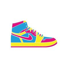 #cmykfriday - Every friday I design a cmyk vector object as an icon: today is Air jordan 1, an iconic shoes is now an icon:)! #graphicdesign #design #cmyk #cmykfriday #icon #infographic #jordan #illustration #artdirection #airjordan #airness #nike