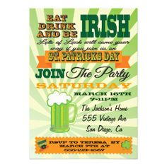 >>>Coupon Code          Poster Style St. Patrick's Day Party Invitation           Poster Style St. Patrick's Day Party Invitation We provide you all shopping site and all informations in our go to store link. You will see low prices onDeals          Poster Style St. Patrick's Da...Cleck Hot Deals >>> http://www.zazzle.com/poster_style_st_patricks_day_party_invitation-161971296376452407?rf=238627982471231924&zbar=1&tc=terrest