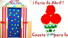 Monta una Caseta para la Feria de Abril, celebra la feria de abril con los niños y móntale su propia Feria:http://www.manualidadesinfantiles.org/monta-una-caseta-para-la-feria-de-abril