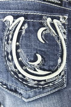 Miss Me Horseshoe Jeans - so western! $94.95